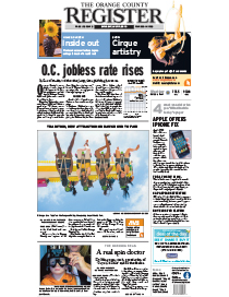 Orange County Register – July 17, 2010