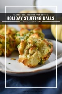 Holiday Stuffing Balls by The Dizzy Cook
