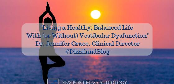 Living a Healthy, Balanced Life