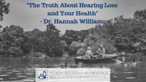 Truth About Hearing Loss and Your Health