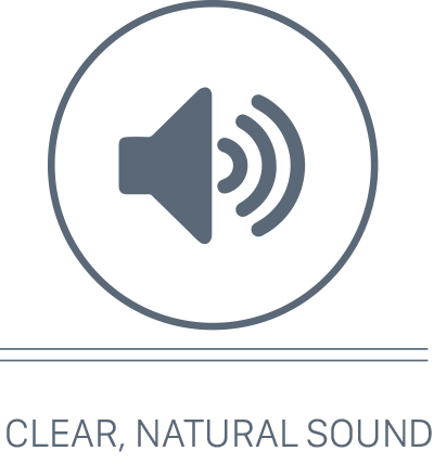 Clear Natural Sound