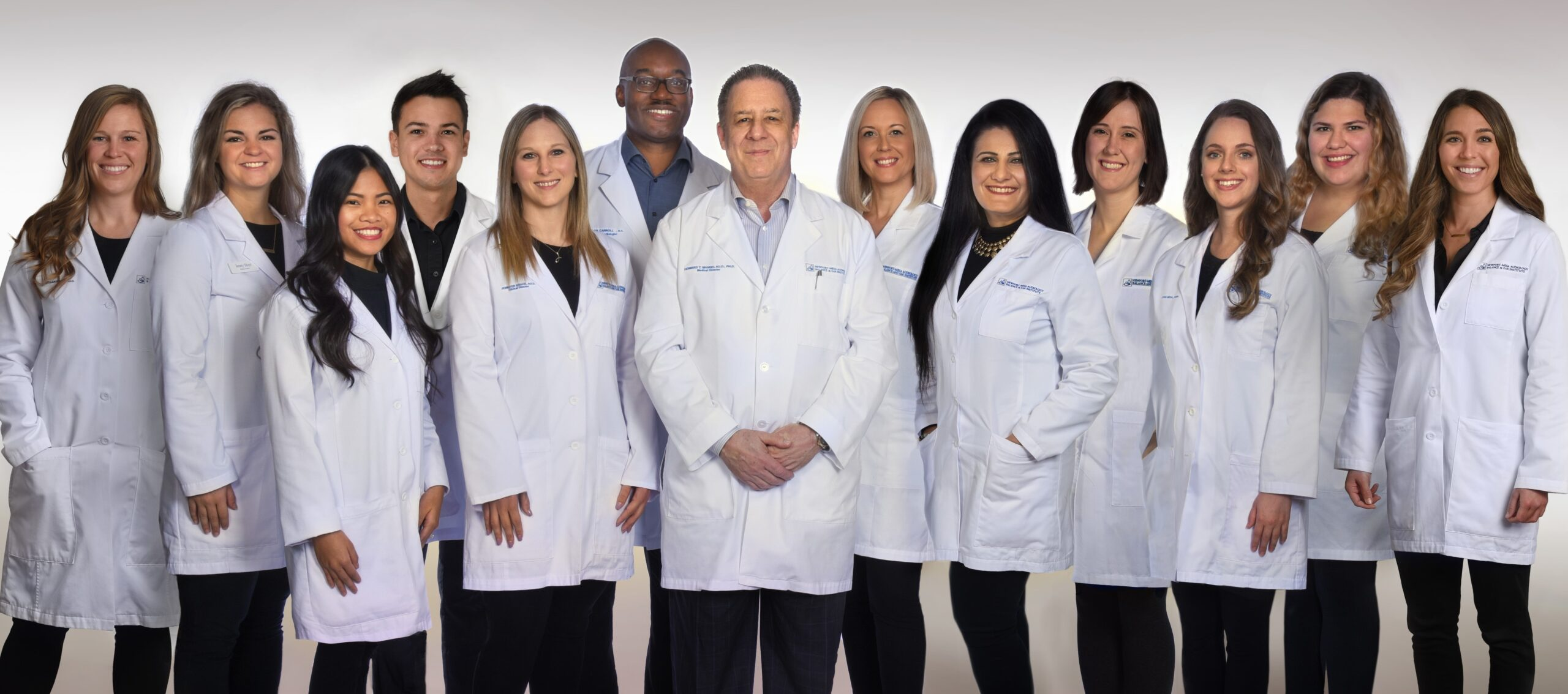 image of clinical staff at Newport-Mesa Audiology Balance & Ear Institute