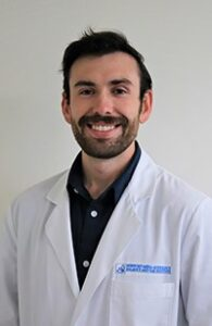 image of clinical extern Isaac Cooley